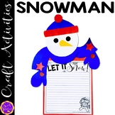 Make a Snowman - (craft templates and step-by-step instructions)