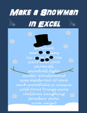Make a Snowman in Microsoft Excel