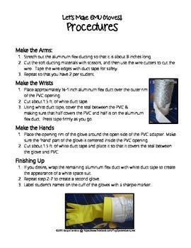 Make a Spacesuit Arm/Glove