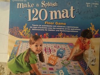 Make a Splash! 120 Mat Floor Game