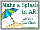 Make a Splash in AR! AR Goal Clip Chart