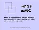 Make a Square Smart Board Classroom Game