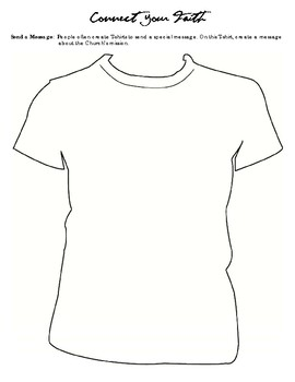 Make a T-shirt about the Church's Mission