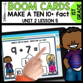 Make a TEN to ADD BOOM CARDS Distance Learning Math Module