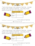 Make a Table Graphing Strategy Exit Slip!