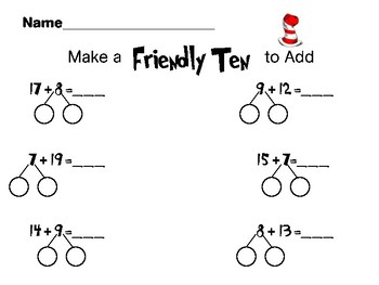 Make a Ten Adding and Subtracting