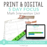 Make a Ten Addition | Print and Digital Math Intervention