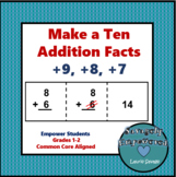 Addition Facts: Make a Ten / Math Intervention