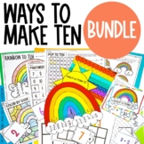 Spring Craft and Activities BUNDLE for Make a Ten