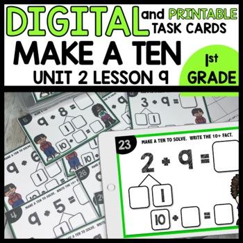 Make a Ten DIGITAL TASK CARDS | PRINTABLE TASK CARDS