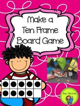 Make a Ten Frame Game Board