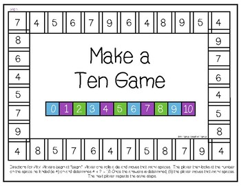 Make a Ten Game