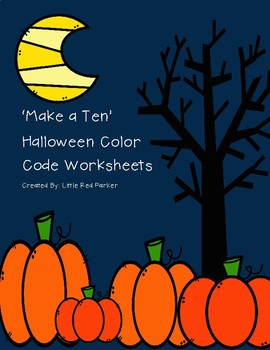 Make a Ten Halloween Color Code
