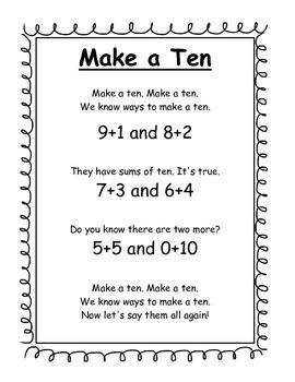 Make a Ten Song