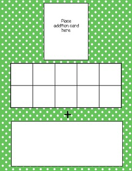 Make a Ten Strategy for Addition to 20