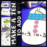 Make a Ten Add 9 Centers and Craftivity