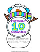 Make a Ten to Add with +9 Winter Snowman