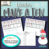 Make a Ten to Add Using Ten Frames/ Addition