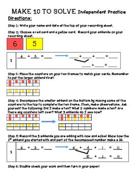Make a Ten to Solve