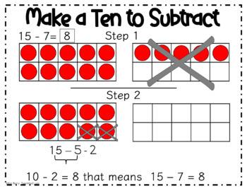 Make a Ten to Subtract