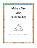 Make a Ten using Fact Family Triangles
