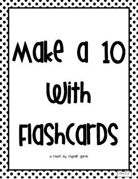 Make a Ten with Flashcards