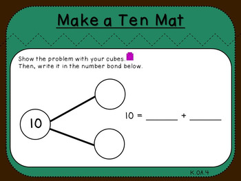 Make a Ten with Number Bonds (Kindergarten-K.OA.4)