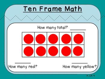 Make a Ten with Ten Frames (Kindergarten-K.OA.4)