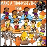 Make a Thanksgiving Tree Clip Art Set {Educlips Clipart}