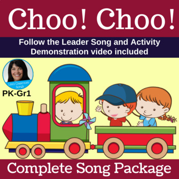"Train Singing Game | ""Choo! Choo!"" by Lisa Gillam 