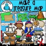 Make a Treasure Map Clip Art Set - Chirp Graphics