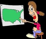 Make a USA puzzle map-Lesson one of 10 lesson USA unit