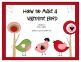 Make a Valentine Bird Mini-Pack (Sequencing and Literacy)