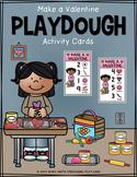 Make a Valentine Playdough Activity Cards