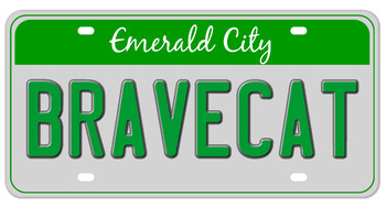 Make a Vanity License  Plate for a  Literary or Historical Character