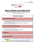 Make a Website Using HTML/CSS - TechGirlz Workshop Plan