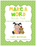 Make a Word! Bundle Pack {Long Vowels, Short Vowels, and Consonant Digraphs}