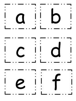 Make-a-Word CVC Family Flashcards