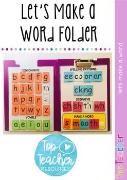 Make-a-Word Folder