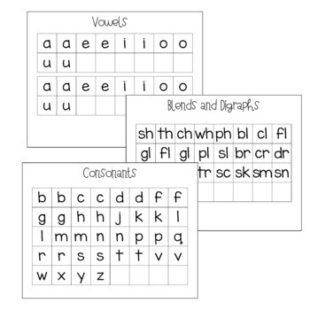 Make a Word Literacy Activity - Word Building and Spelling