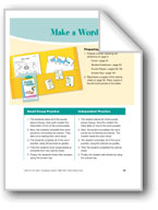 Make a Word (Phonics/letter sounds)