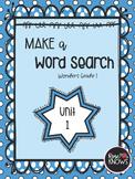 Make a Word Search Bundle McGraw Hill Wonders