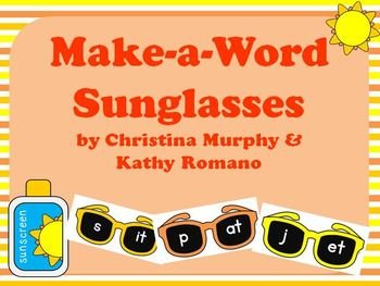 Make-a-Word Sunglasses