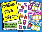 Make a Word with CVC Mats