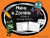 Make a Zombie Dice & Writing Activity FREEBIE