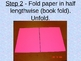 Make a box using a sheet of paper