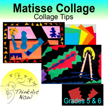 Make a collage after Matisse and use negative shapes