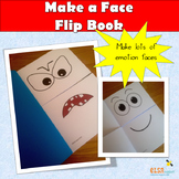 Make a face flip booklet