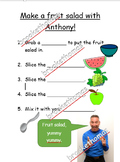 Make a fruit salad with Anthony!