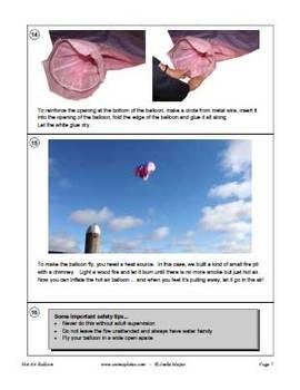 Make a hot air balloon